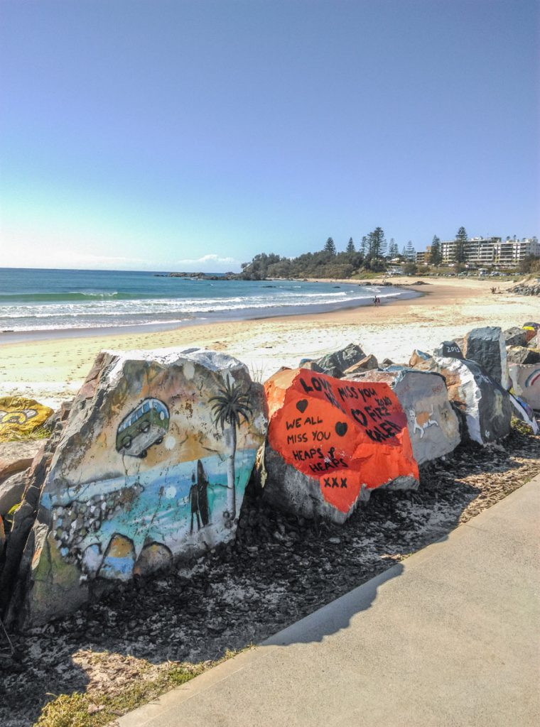 Breakwall, Port Macquarie (Photo Credit: Jenni)