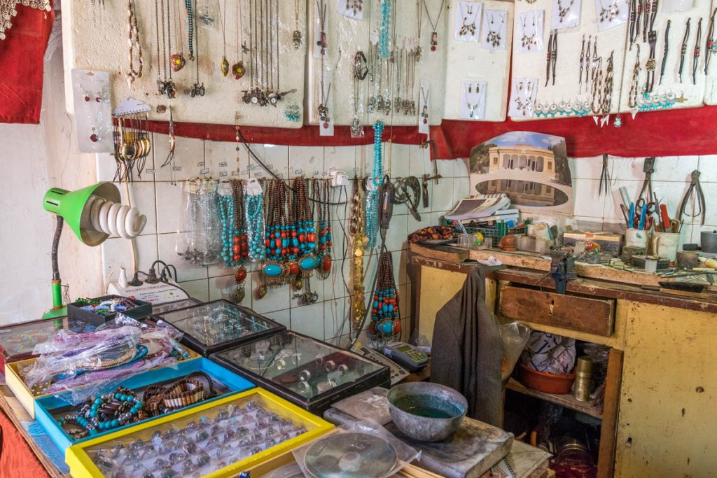 A shop in Abyaneh, Iran
