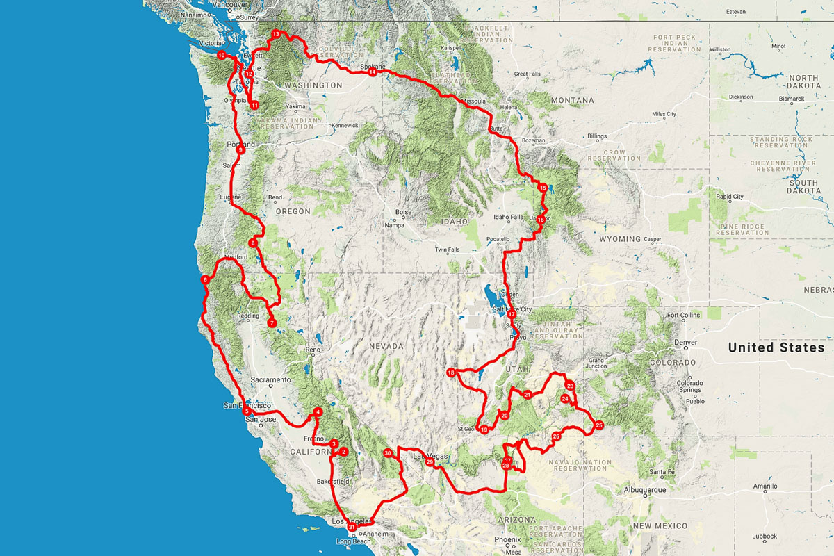 Western USA Road Trip Journal | Kevin\'s Travel Blog