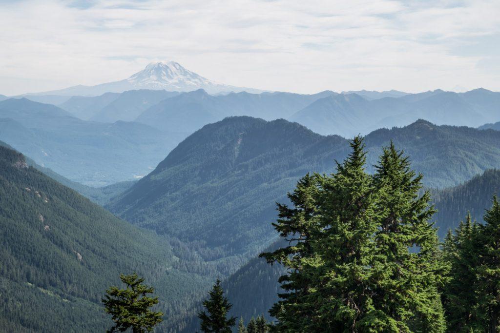 Views from Pinnacle Peak, Mount Rainier National Park
