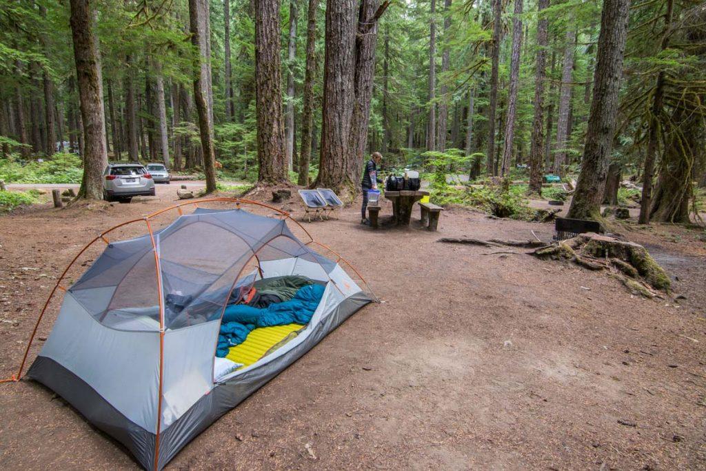 Ohanapecosh Campground, Mount Rainier National Park