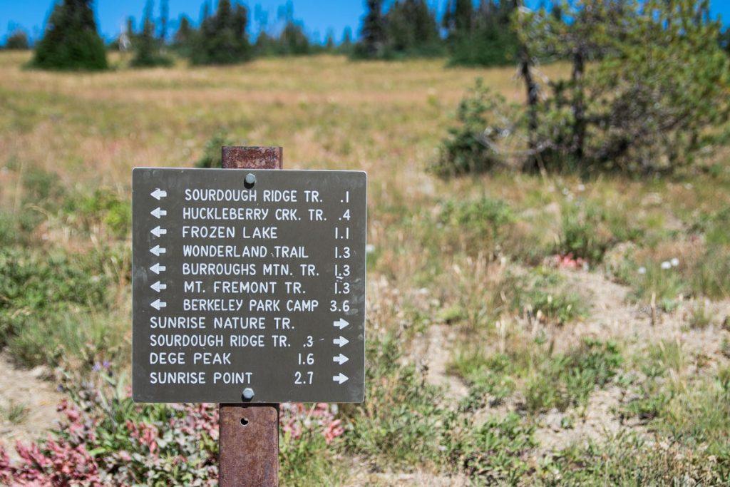 Mount Freemont Lookout trail, Mount Rainier National Park