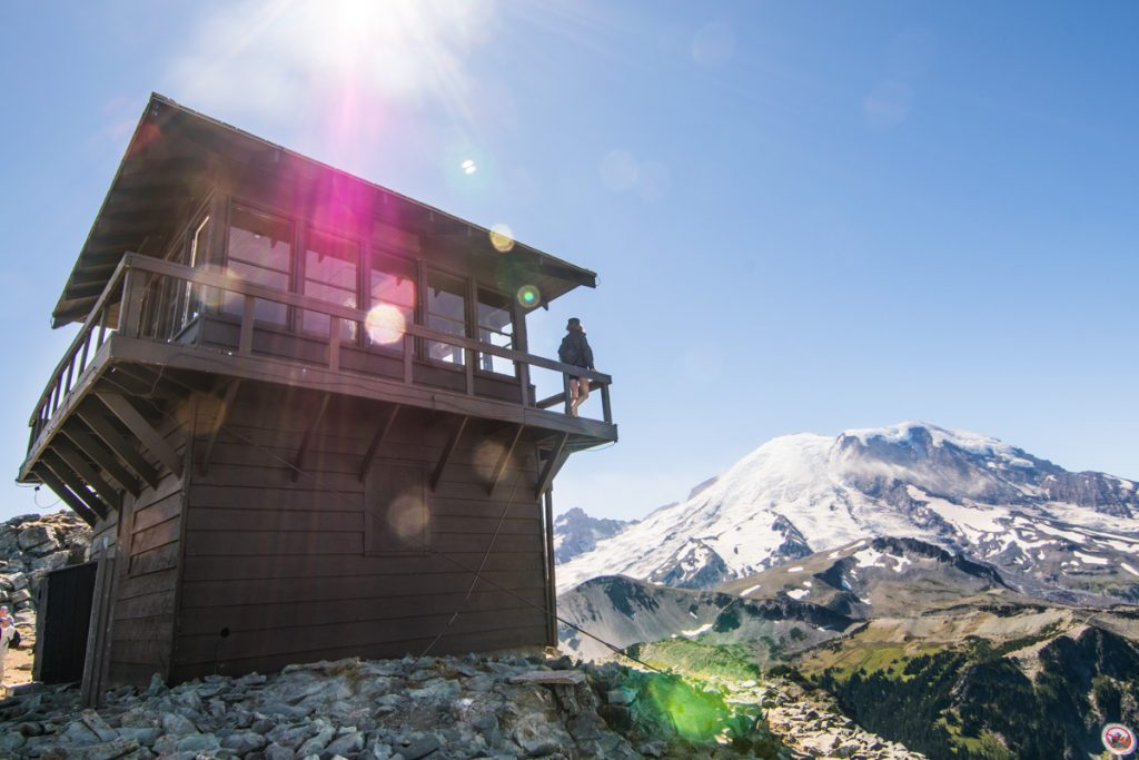 Mount Freemont lookout cabin, Mount Rainier National Park