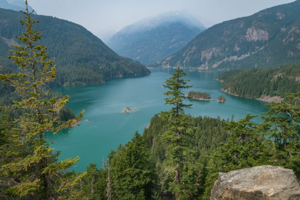 Diablo Lake, Rose Lake National Recreation Area