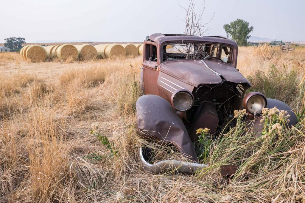 Abandoned car, Idaho