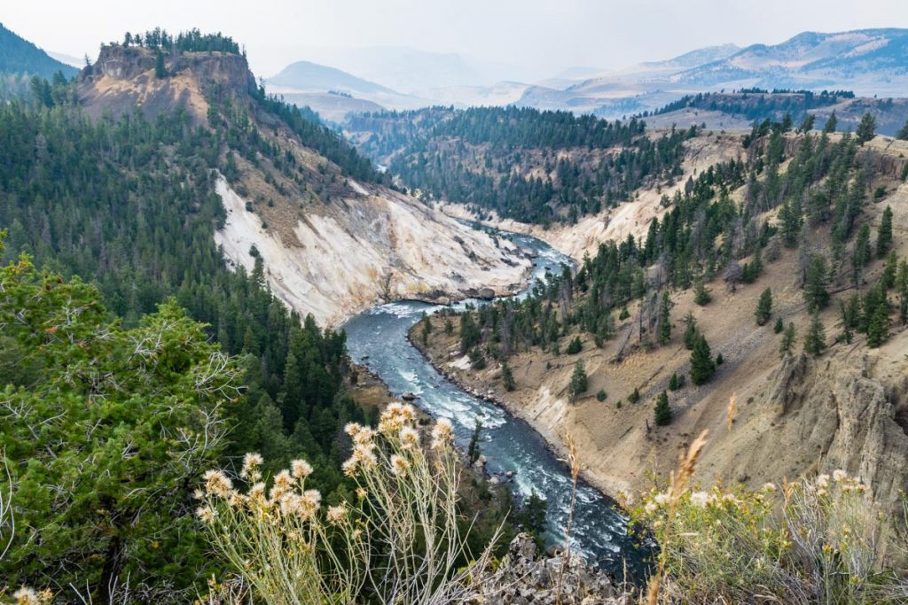 Calcite Springs Overlook, Yellowstone National Park