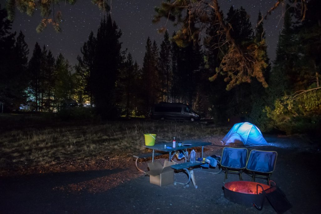 Colter Bay Campground, Grand Teton National Park