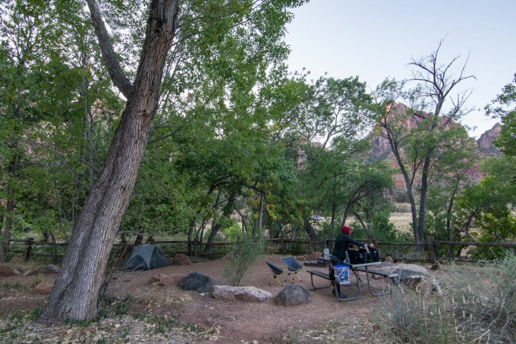 South Campground, Zion National Park